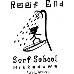 Reef End Surf School Logo